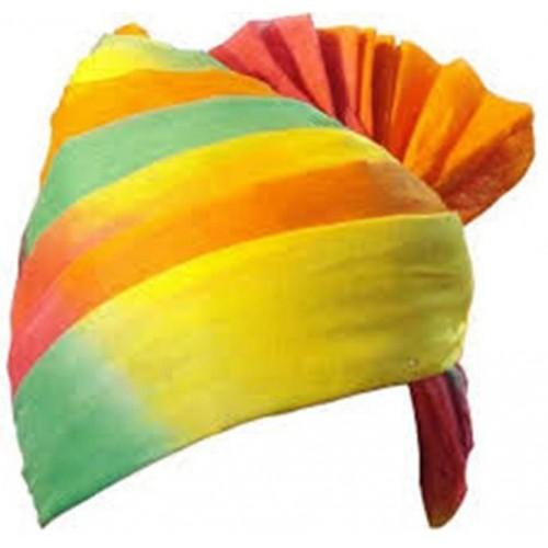 femezone Self Design Rajasthani turban(pagadi)Fem20161373